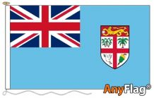 - FIJI ANYFLAG RANGE - VARIOUS SIZES